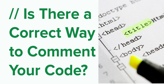 Is There a Correct Way to Comment Your Code? - NDepend