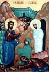 Lázaro de Betania, Santo