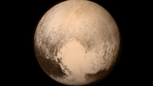 NASA releases the final color image of Pluto taken before the flyby