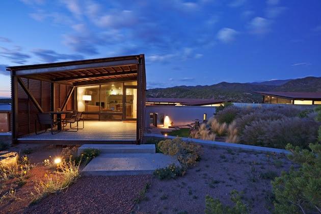 nm 2 Contemporary Southwest Home In The Santa Fe Desert