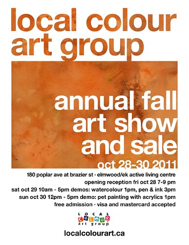Local Colour Art Group Fall 2011 Art Show
