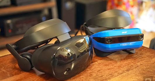 Samsung vs. Acer Mixed Reality headsets: Which handles VR best?