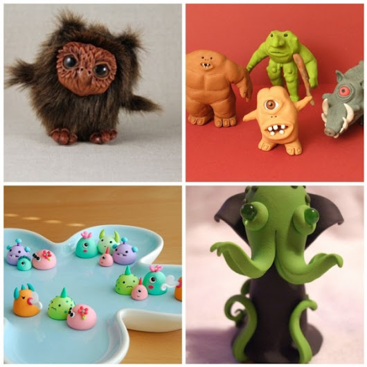 Monsters from Clay – Polymer Clay