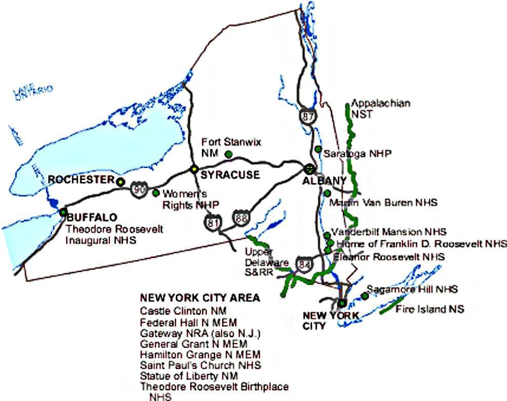 Billbacksmaced  New York State Map For Kids