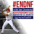 End Neurofibromatosis with Ian Desmond