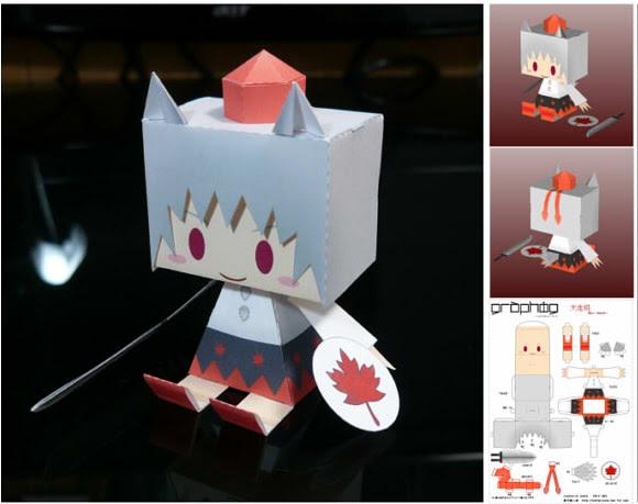 Momiji Paper Toy