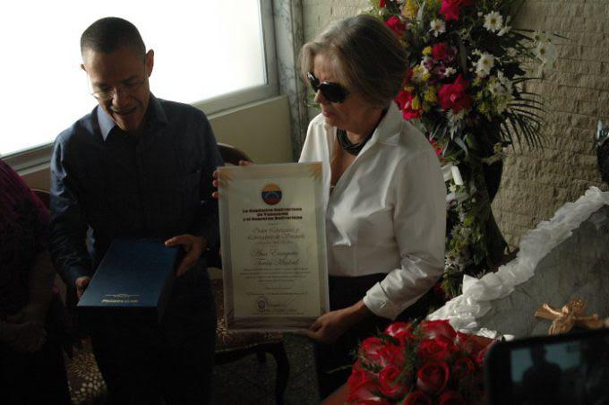Ministerio de Cultura confiere Orden Libertadores post mortem a la poeta Ana Enriqueta Terán