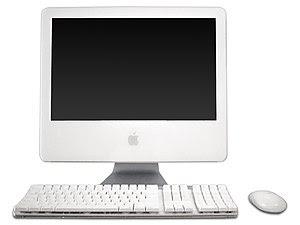 An iMac G5 17