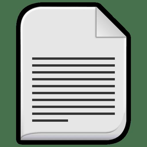 Text plain Icon | Leaf Mimes Iconset | Untergunter