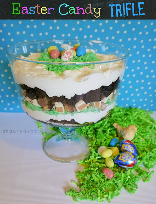 HERSHEY'S Easter Candy Brownie Trifle