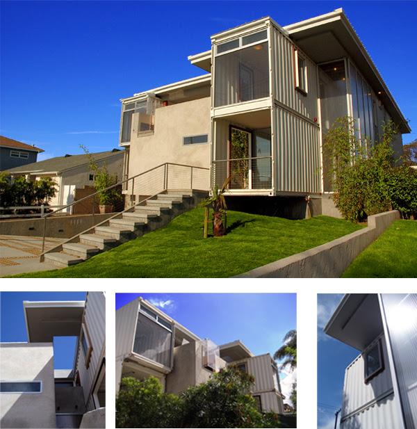 Redondo Beach Shipping Container House   Inhabitat - Sustainable ...
