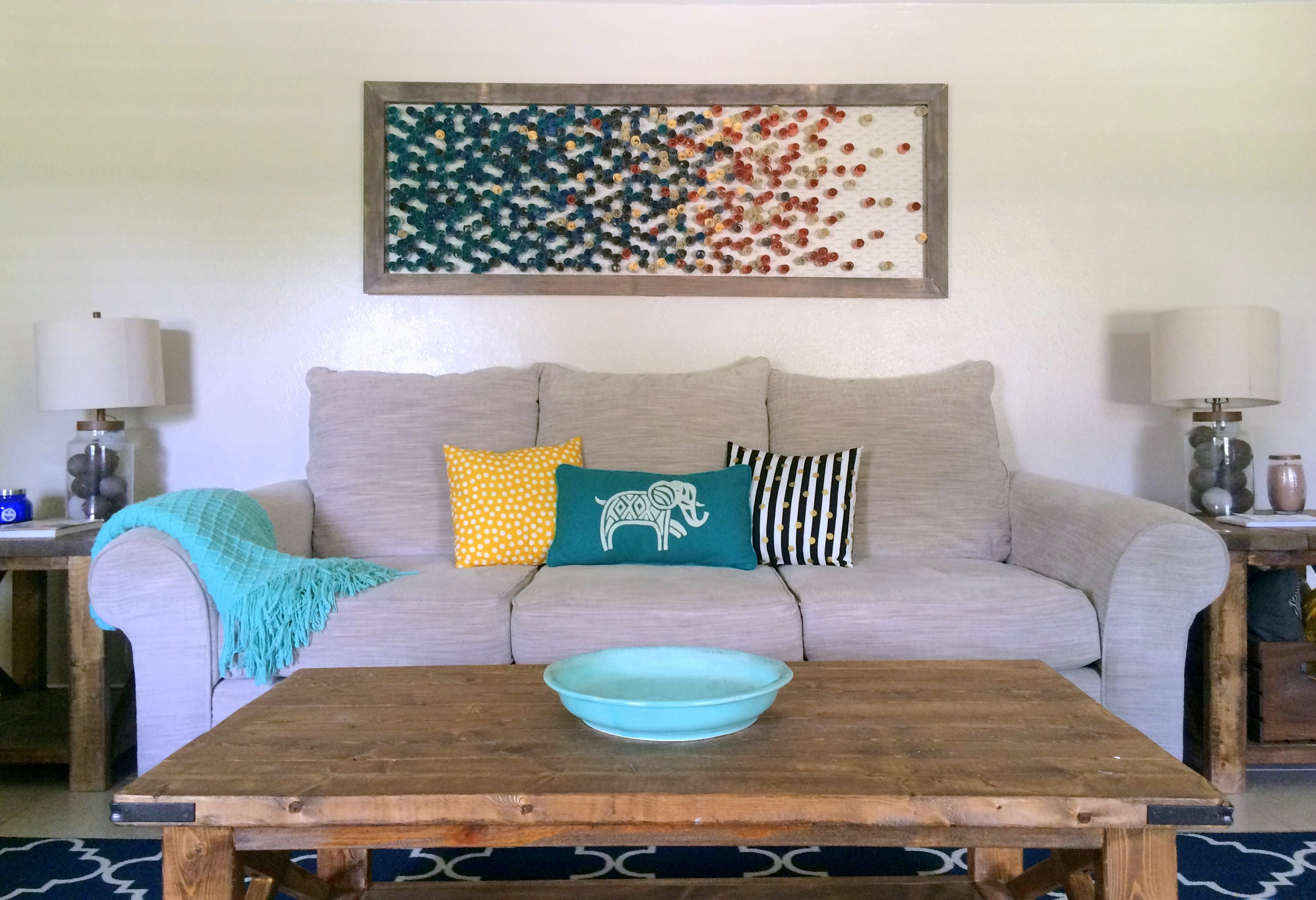 DIY // Framed Paper Wall Art - Within the Grove