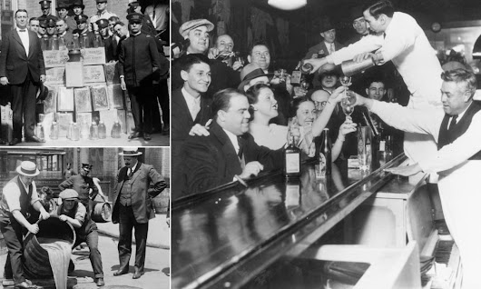 In good spirits: Celebrations at end of prohibition 80 years ago