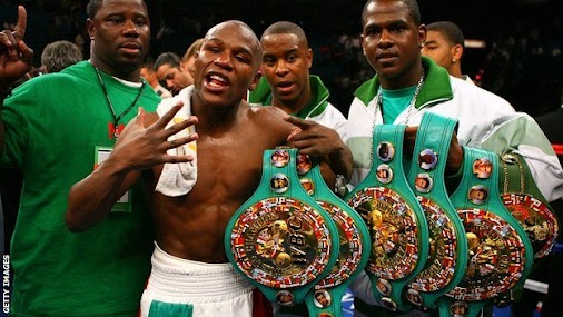 Floyd Mayweather Will Be Stripped of His WBO Title Belt on Monday http://sostrenews.com/floyd-mayweather...