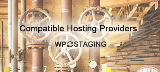 A list of Compatible Hosting Providers that run with WP Staging