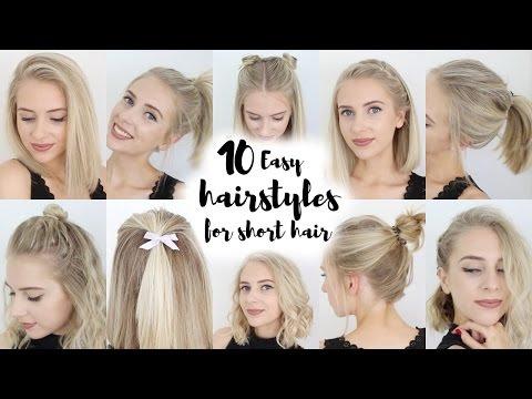 10 könnyen elkészíthető frizura rövid(ebb) hajhoz