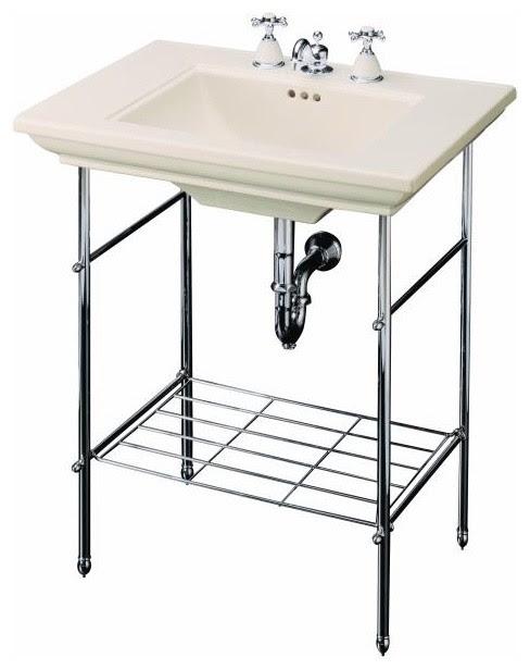 Memoirs Table Legs - traditional - bathroom vanities and sink ...