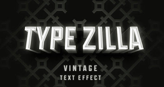 Type Zilla Psd Text Effect | Photoshop Text Effects | Pixeden