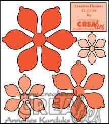 Creative Flowers stans no. 10 / Creative Flowers die no. 10