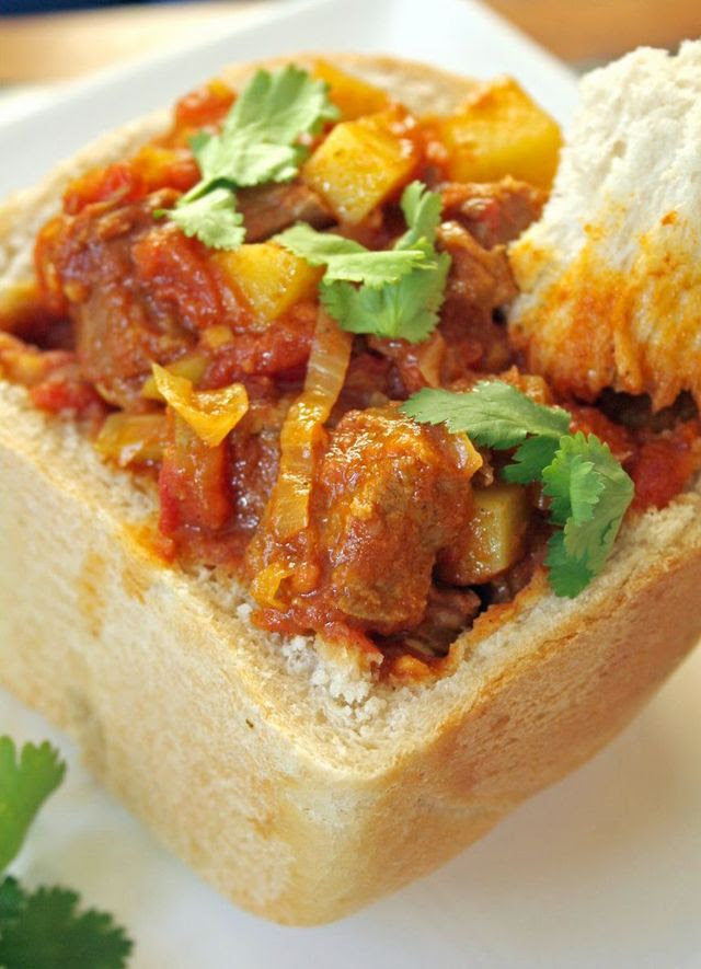 Bunny Chow - South Africa