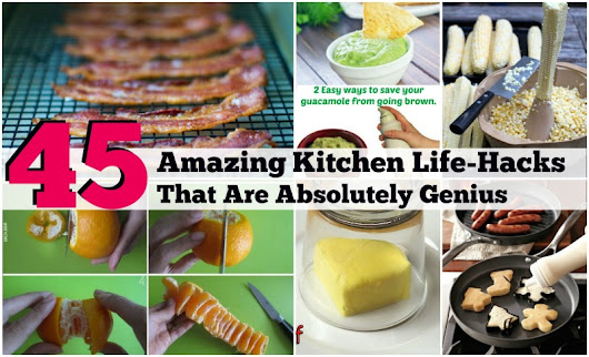 45 Amazing Kitchen Life-Hacks That Are Absolutely Genius - DIY & Crafts
