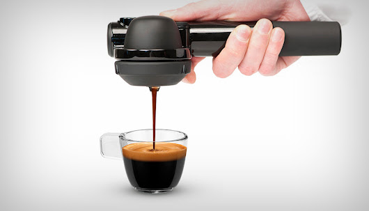 What's that in your pocket? A coffee machine. | Yanko Design