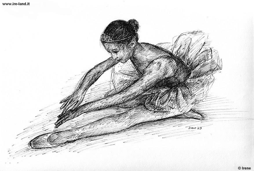 Ballerina Di Danza Classica Disegno Il Costo Di Un Applauso Foto