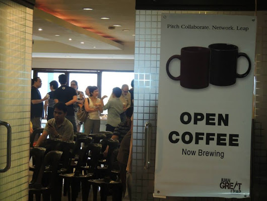 Special Yolanda-edition JGL OPEN COFFEE to be served on NOV. 30