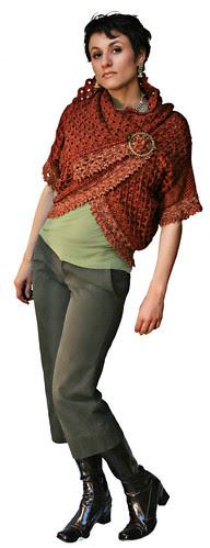 Endless Crochet Cardi Shawl