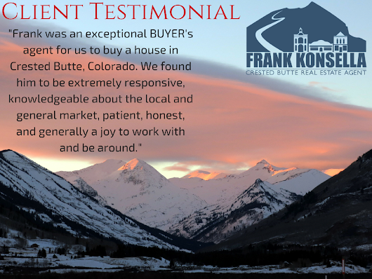 Client Testimonial- Kemble and Meriska, Golden, CO - Crested Butte Real Estate Agent