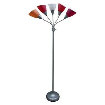 Room Essentials® 5-Head Floor Lamp - Pink - - Amazon.com