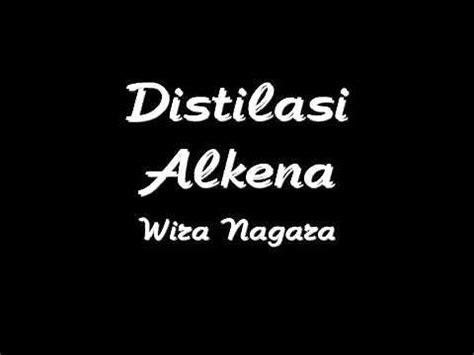 puisi distilasi alkena karya wira nagara youtube