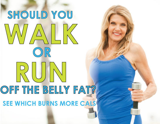 Does Walking or Running Burn More Calories?