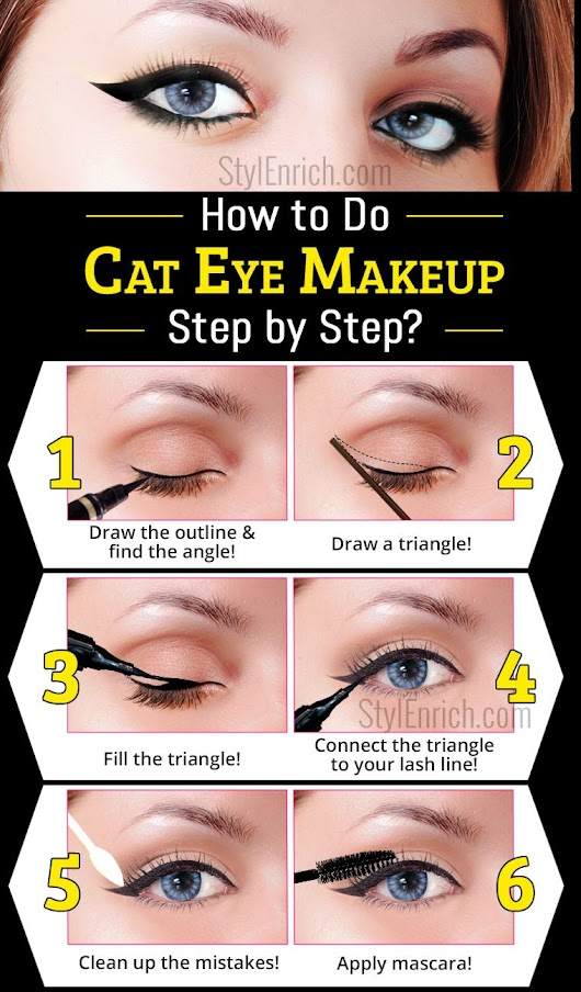 Cat Eye Makeup : Learn How To Do a Cat Eye Makeup!