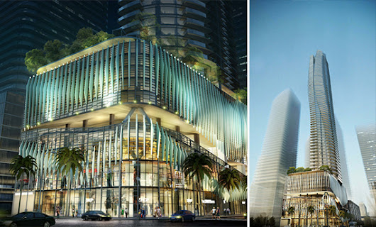 Developer proposes 78-story Brickell tower on Burger King site