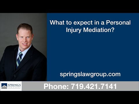 What to expect in a personal injury mediation
