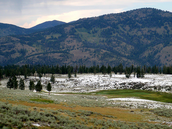 North Yellowstone and recent hail