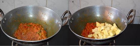How to prepare aloo baingan sabzi