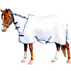 TuffRider Sport Mesh Combo Neck Fly Sheet, White