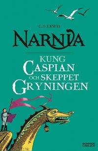 Kung Caspian och skeppet Gryningen (storpocket)