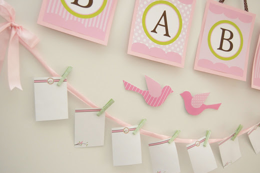 The Thriftiness Miss: A Pretty Pink Baby Shower in the Making