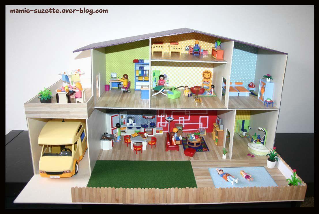 Construire Une Maison Playmobil En Bois