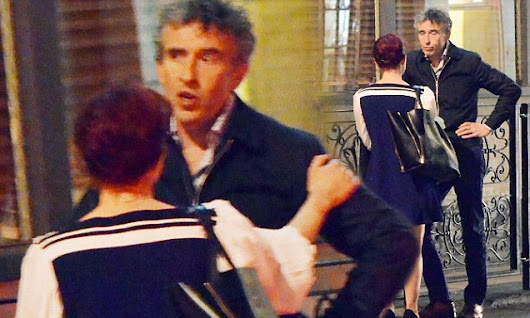 PICTURED: Steve Coogan has blazing row with girlfriend Daisy Lewis