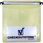 200 CD Double-sided Refill Plastic Hanging Sleeve Yellow