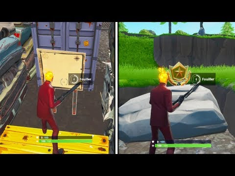 Carte Au Tresor Fortnite Junk Junction.Panneau Fortnite Junk Junction Fortnite Chest Noise