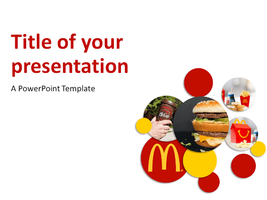 McDonald's PowerPoint Template - PresentationGO.com