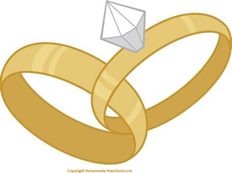 Free Wedding Rings Clipart