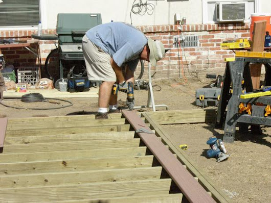 How to Build a Backyard Deck