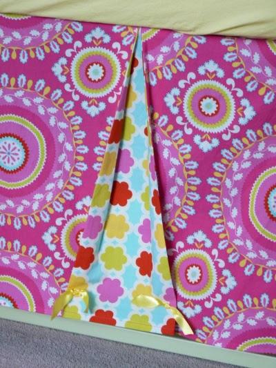 kumari crib skirt detail