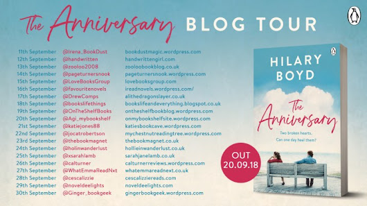 #BlogTour #Review ~The Anniversary by @HilaryBoyd @PenguinUKBooks @Tr4cyF3nt0n @JennyPlatt90 | Ali - The Dragon Slayer